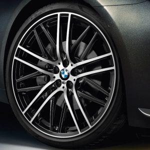 Комплект летних колес в сборе R21 BMW M Performance Double Spoke 650 M, Pirelli P Zero r-f, без RDC, Runflat