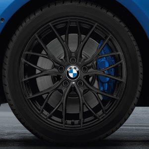Комплект летних колес в сборе R18 BMW F30/F31/F32/F33/F36 M Performance Double Spoke 405 M, Goodyear EfficientGrip ROF, RDC, Runflat