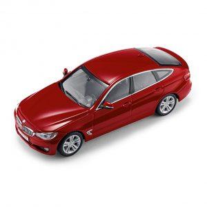 Миниатюрная модель BMW 3 серии GT, Melbourne Red, масштаб 1:43