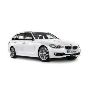 Миниатюрная модель BMW 3 серии Touring, Alpine White, масштаб 1:43