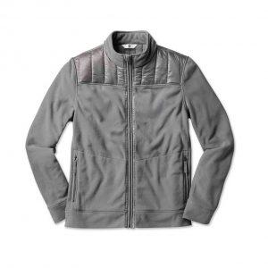 Мужская флисовая куртка BMW, Space Grey