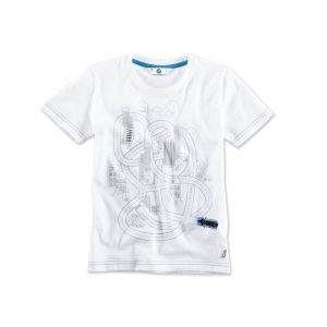 Детская интерактивная футболка BMW i, White