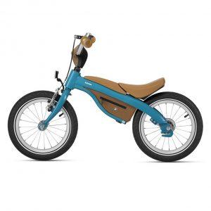 Детский велосипед BMW Kidsbike, Turquoise/Caramel
