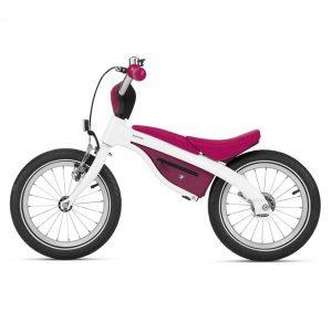Детский велосипед BMW Kidsbike, White/Raspberry