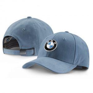 Бейсболка BMW Logo Steel Blue