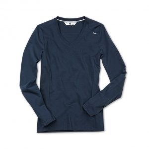 Женская футболка BMW с длинным рукавом, Dark Blue
