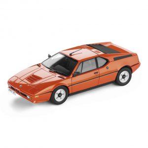 Миниатюрная модель BMW M1 (1978) Orange, масштаб 1:18