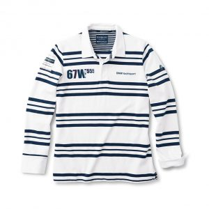 Мужская рубашка BMW Rugby Yachting, White / Blue
