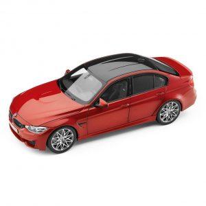 Миниатюрная модель BMW F80 M3 Competition Sakhir Orange