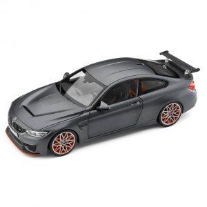 Миниатюрная модель BMW M4 F82 GTS, Frozen Dark Grey, масштаб 1:18