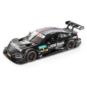 Миниатюрная модель BMW M4 DTM 2016 Team BMW Bank, масштаб 1:18