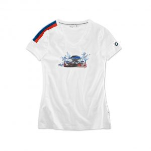 Женская футболка Motorsport Motion, White