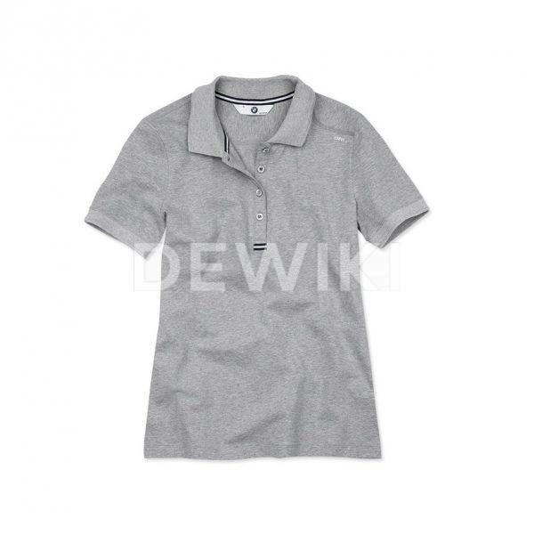 Женская рубашка-поло BMW Grey Melange