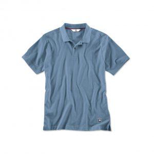 Мужская рубашка-поло BMW, Steel Blue
