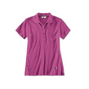 Женская  рубашка-поло BMW, Zyclam Red