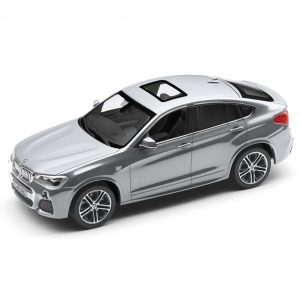 Миниатюрная модель BMW X4, Glacier Silver, масштаб: 1:43