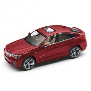 Миниатюрная модель BMW X4, Melbourne Red, масштаб: 1:43