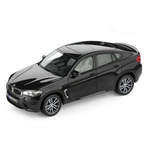 Миниатюрная модель BMW X6 M, Black Sapphire, масштаб 1:18