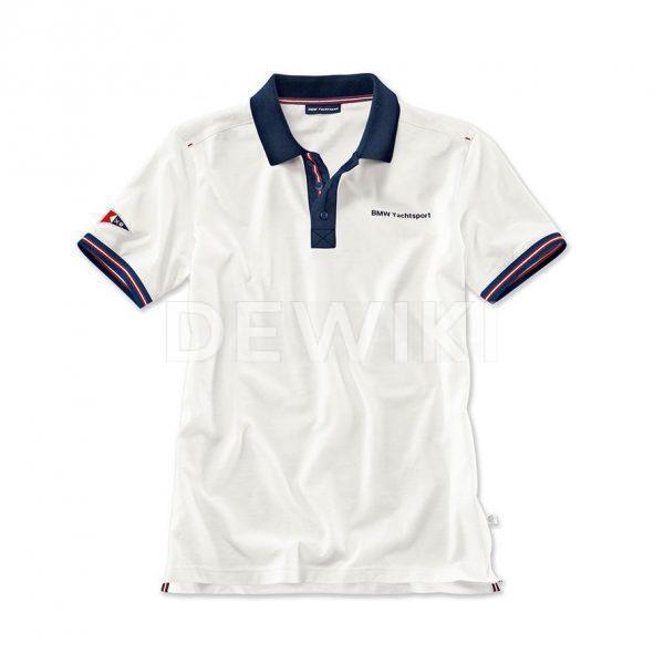 Мужская рубашка-поло BMW Yachtsport, White