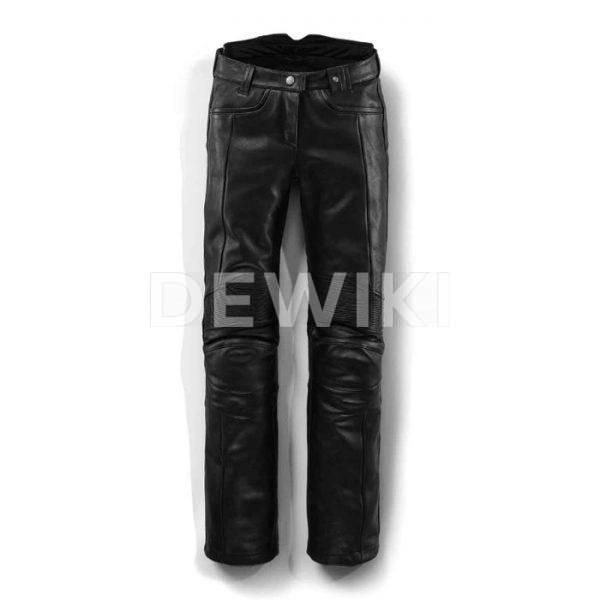 Женские кожаные мотоштаны BMW Motorrad DarkNite, Black
