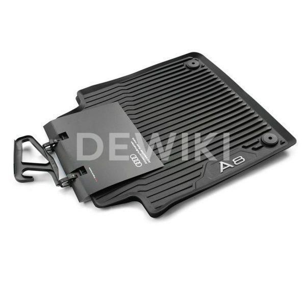 Резиновые задние коврики Audi A8/S8 Long (4N/D5)