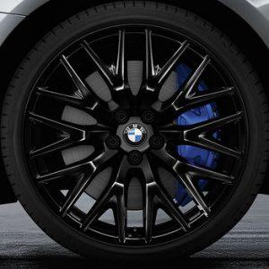 Комплект летних колес в сборе R20 BMW G30/G31 Cross Spoke 636 Liquid Black, Goodyear Eagle F1 Asymmetric 3 ROF, RDC, Runflat