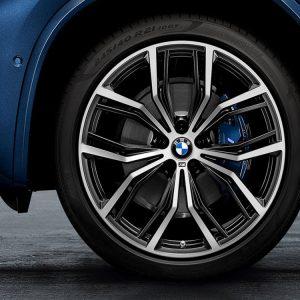 Комплект летних колес в сборе R21 BMW Y-Spoke 701 M, Bridgestone Alenza 001 RFT, RDC, Runflat