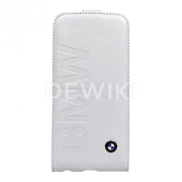 Чехол-флип BMW для iPhone 5/5S, White