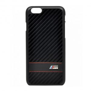 Крышка-чехол BMW для iPhone 6 M-Collection Hard Carbon Effect, Black