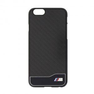 Крышка-чехол BMW для iPhone 6 M-Collection Carbon & Aluminium Finish, Black