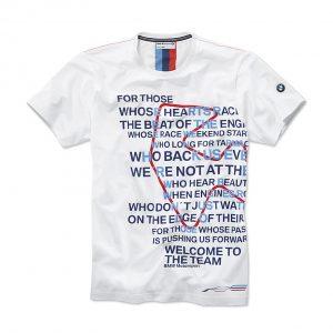 Мужская футболка BMW Motorsport Graphic, White
