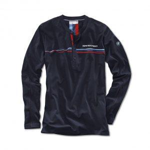 Мужская футболка BMW Motorsport с рукавом, Dark Blue