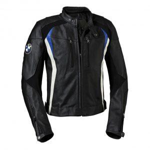 Мужская кожаная мотокуртка BMW Motorrad DoubleR, Black