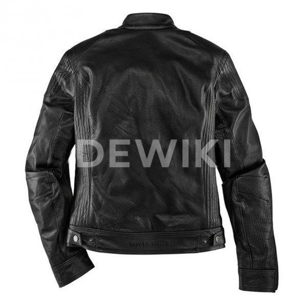 Мужская мотокуртка BMW Motorrad BlackLeather, Black
