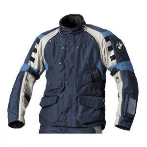 Мужская мотокуртка BMW Motorrad Rallye, Gray/Blue