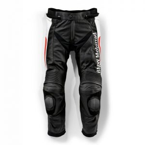 Мужские кожаные мотоштаны BMW Motorrad  Sport, Black/Red/White