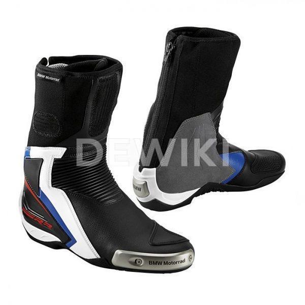 Мужские мотоботинки BMW Motorrad DoubleR, Black