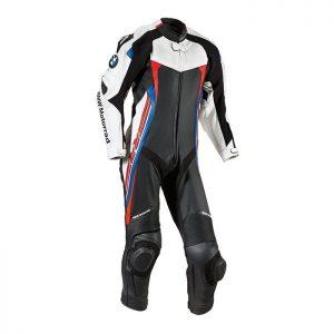 Мужской гоночный мотокостюм BMW Motorrad DoubleR, Black / White