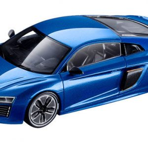Модель в миниатюре Audi R8 e-tron, Magnetic Blue, масштаб 1:43