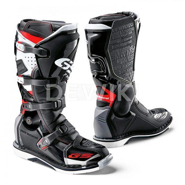 Мужские мотоботы GS Pro мужские, Black/Red