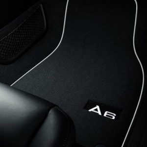 Комплект велюровых ковриков в салон Audi A6 (C7)
