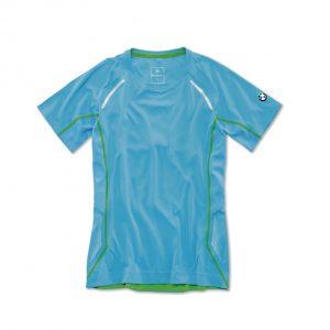Женская спортивная футболка BMW, Blue