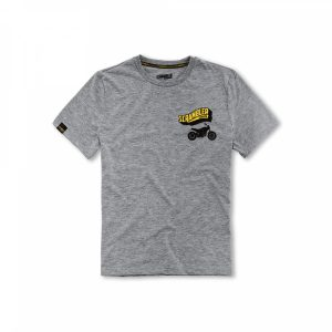 Мужская футболка Big Banner Scrambler, Grey