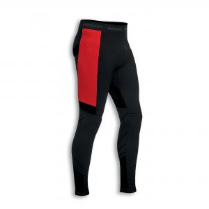 Мужские термоштаны Ducati Warm Up, Black/Red