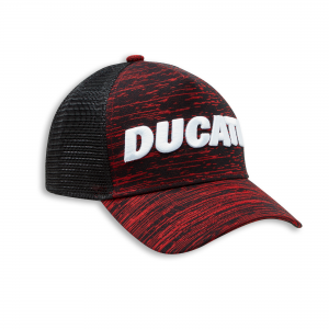 Бейсболка Ducati Scarlett Trucker, Dark red