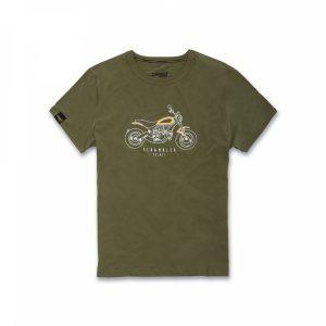 Мужская футболка Ducati Heritage Scrambler, Green