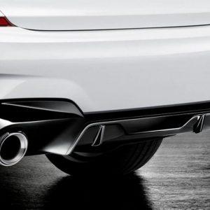 Насадка глушителя BMW M Performance F40/F44/F39, карбон