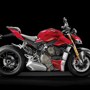 Коллекционная модель Ducati Super Naked V4 S в масштабе 1:18