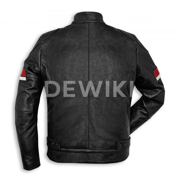 Мужская кожаная куртка Ducati Urban Stripes