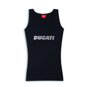 Женская майка Ducati Stardust, Black
